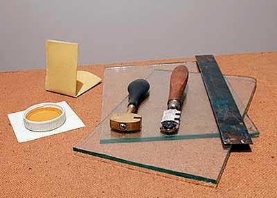 Резка стекла в домашних условиях своими руками
